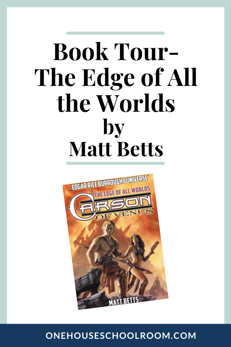 The Edge of All the Worlds {Book Tour}