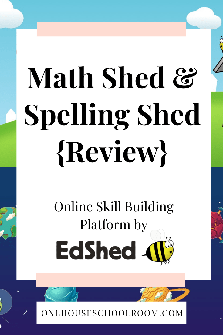 Math Shed & Spelling Shed {Review}