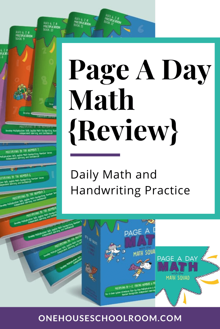 Page A Day Math {Review}