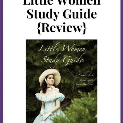 Progeny Press- Little Women {Review}
