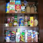 What I Feed My Family: The Pantry Shelves Before Going Local