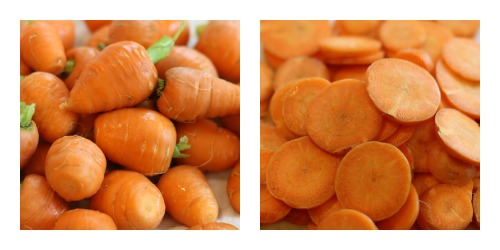 how to dehydrate carrots