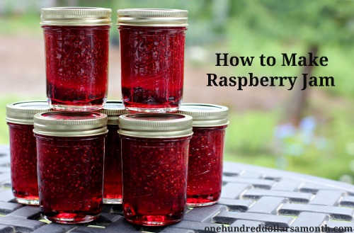 how to make raspberry jam recipe