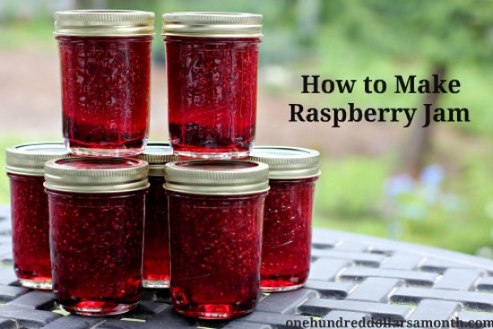 how to make raspberry jam recipe