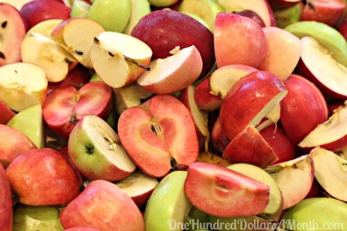 how to make applesauce recipe