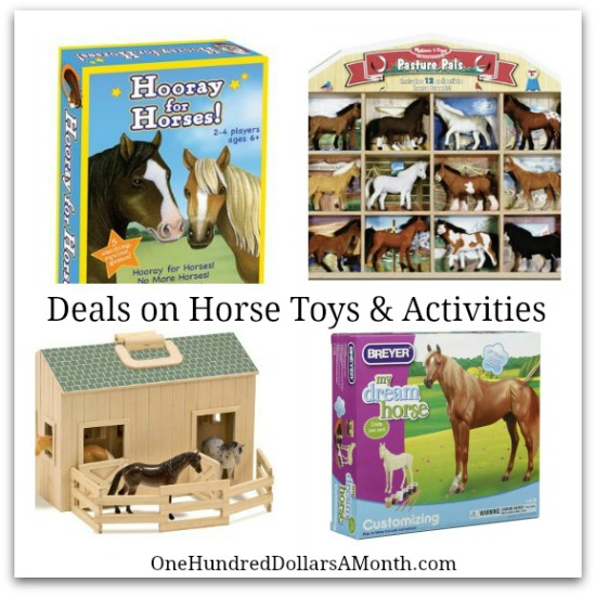 deals on horse toys