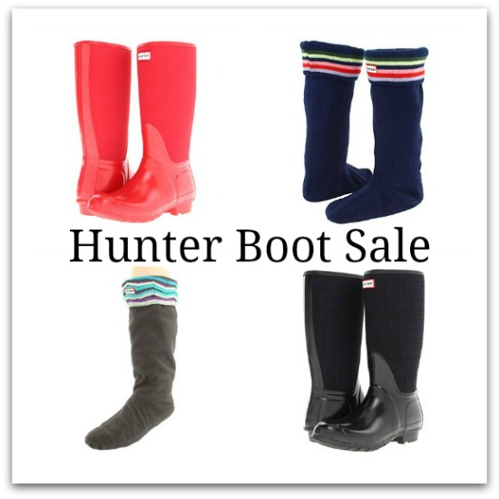 hunter boot sale