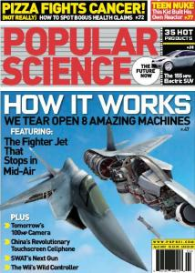 popular science magazine cover