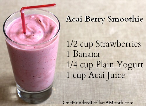 Acai Berry Smoothie