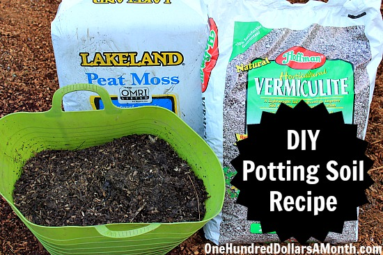 DIY   How To Make Your Own Potting Soil