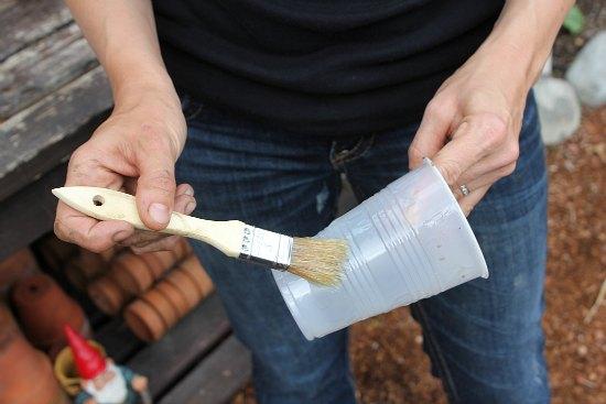 DIY Make Your Own Concrete Planter