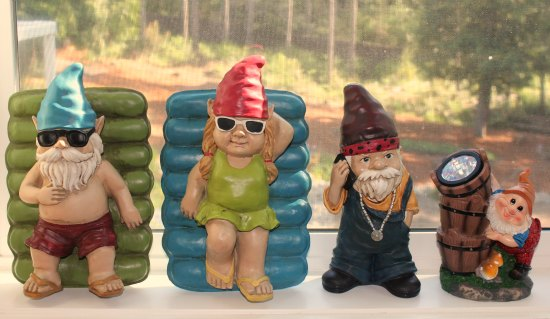 Garden Gnomes  Mavis, St. Jude Fundraiser