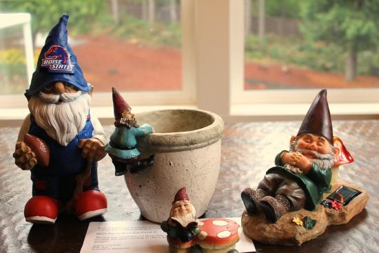 Gnome #39 U2013 Dale Ann From Northern, Minnesota {Gnome: Gustaf!} Gnome # 40 U2013  Michelle From Burlington, Washington Gnome # 41 U2013 Marcy From Anchorage,  Alaska