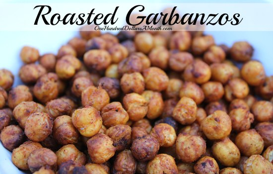 Roasted Garbanzos recipe whole foods