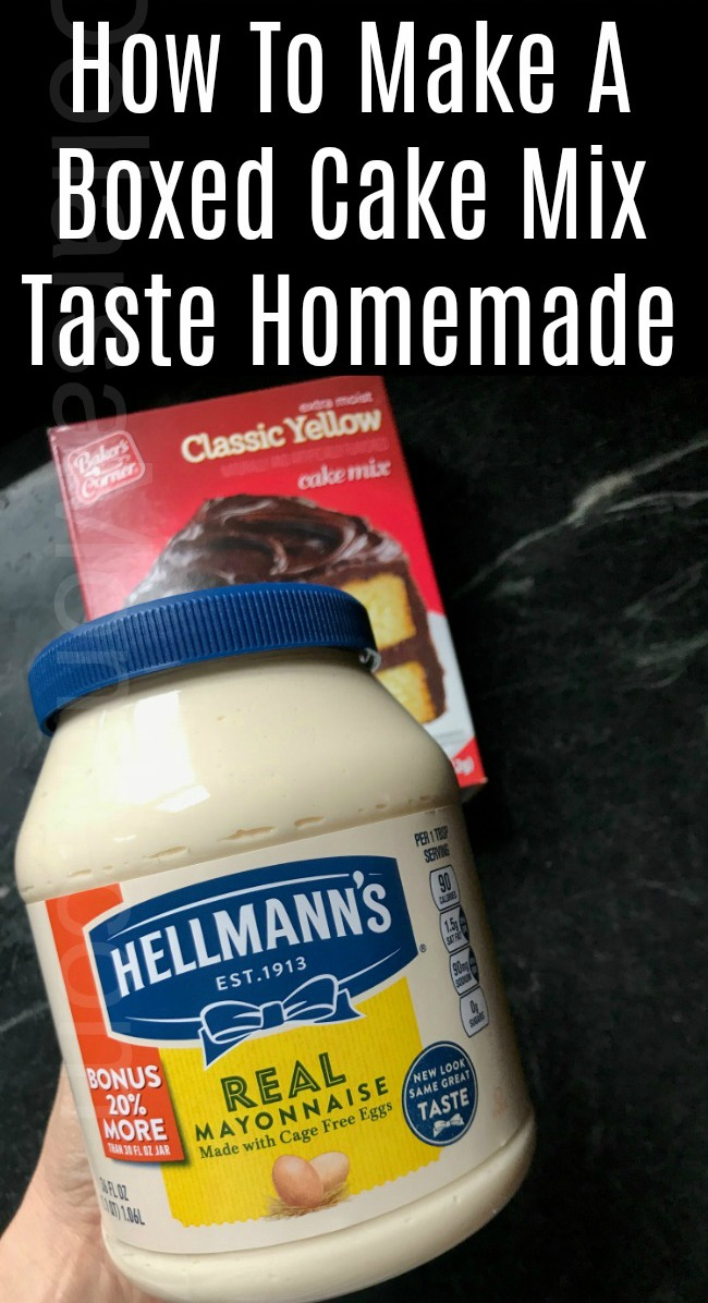 How To Make A Boxed Cake Mix Taste Homemade One Hundred Dollars