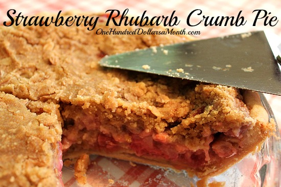 Strawberry-Rhubarb-Crumb-Pie