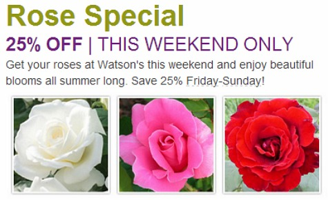 coupons for Watson's puyallup