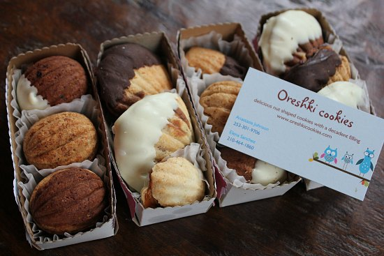 oreshki cookies