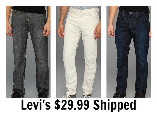 deals on Levi Jeans