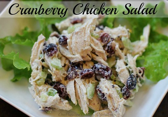 easy-chicken-recipes-Cranberry-Chicken-Salad (1)