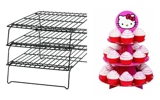 hello kitty cupcake stand