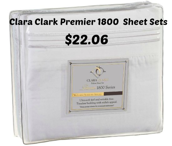 Clara Clark Premier 1800 Collection Bed Sheet Sets