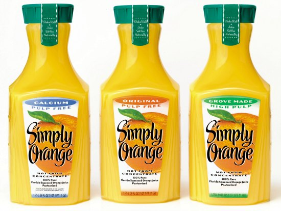 Simply orange Juice coupons
