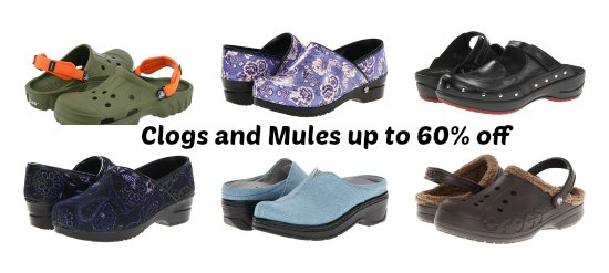 clogs and mules