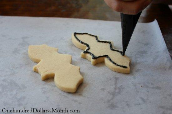 how to make bat cookies