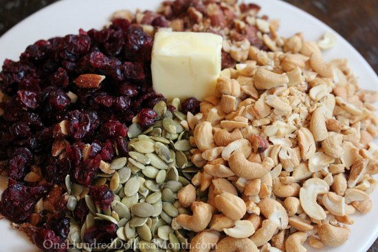 Cashew Cranberry Brittle recipe