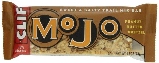 Clif Mojo Bars peanut butter pretzel