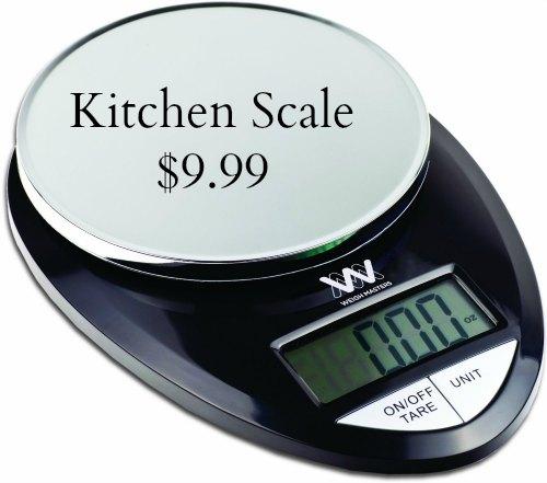 Weigh Masters ProChef Kitchen Scale