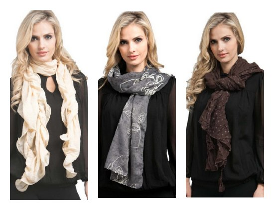 chic scarves