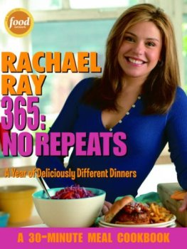 rachel ray cookbook