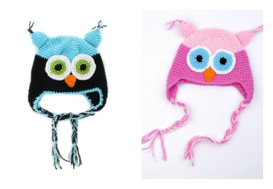 wool owl hats for baby