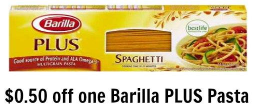 barilla plus pasta coupon