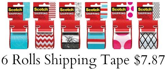 scotch tape shipping tape