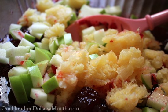 Cranberry Pineapple Jello Salad