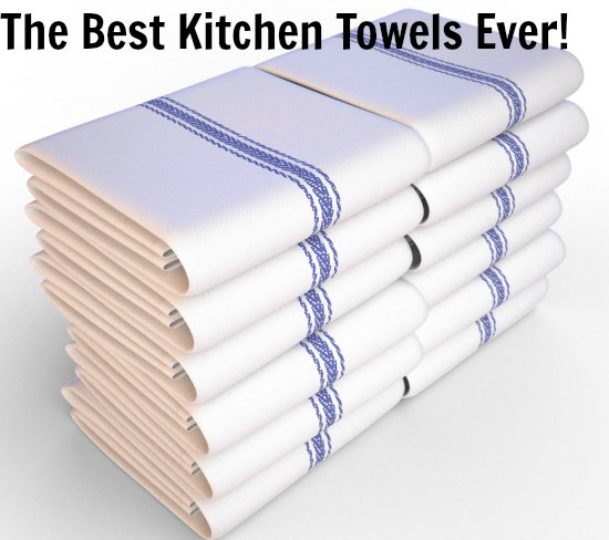 Kitchen-Towels-White-with-Blue-Stripe