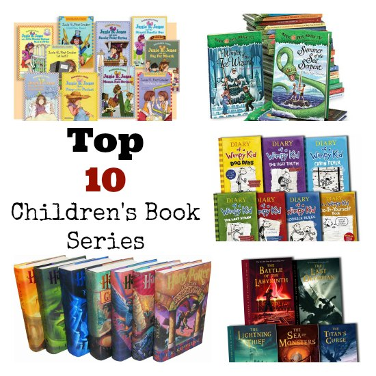My Top 10 Christmas Gifts For Kids: Top 10 Children's Book Series: The Perfect Christmas Gift