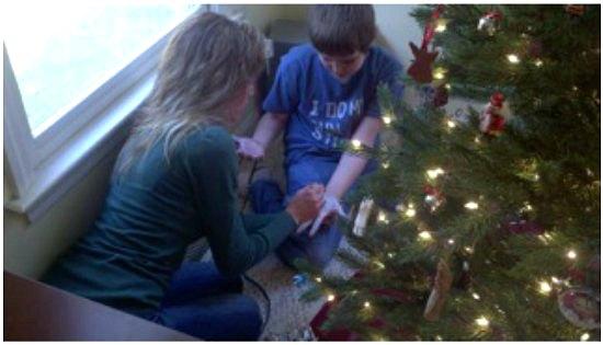 How to make a Christmas Tree Skirt