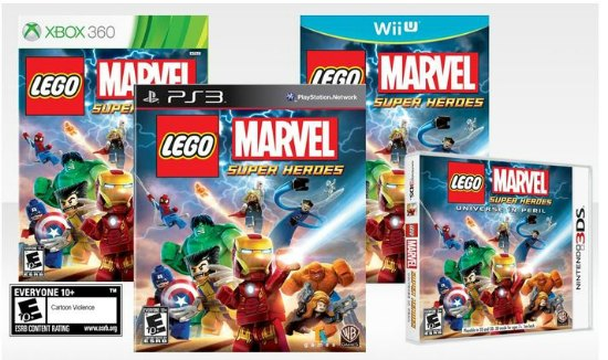 Lego Marvel game