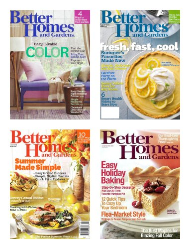 better homes and garden magazine subscription