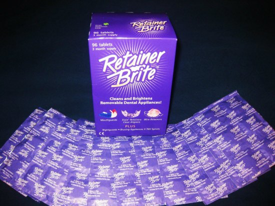 Retainer Brite Tablets