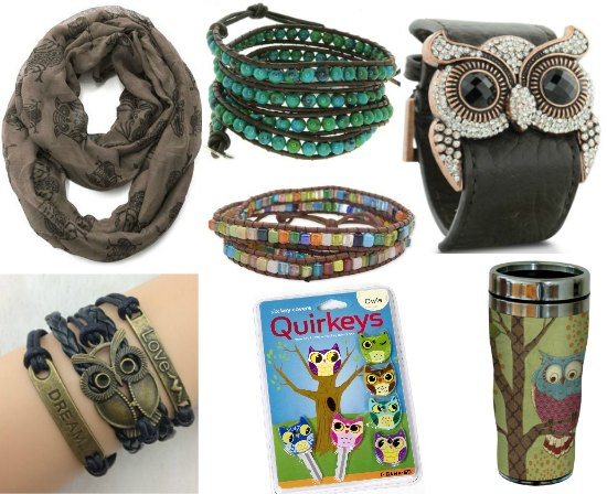 owl jewelry