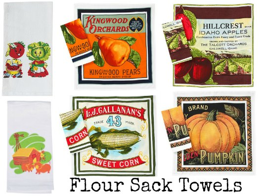 vintage flour sack Towels