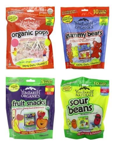 yumearth organics snacks