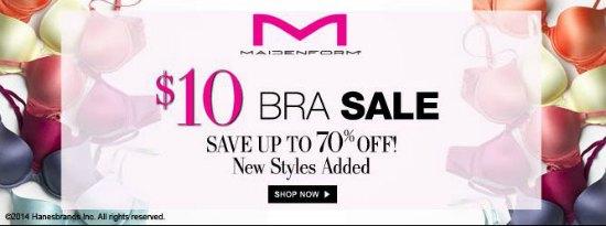 maidenform bra sale coupons