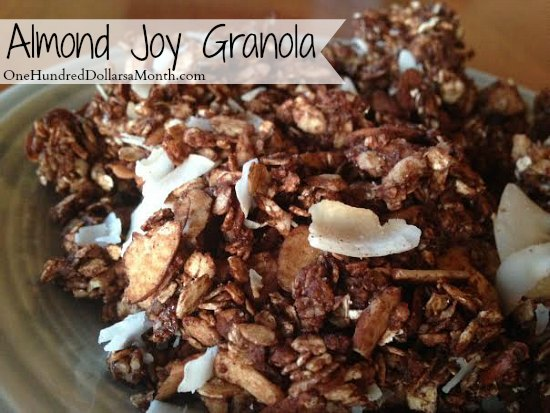 Almond Joy Granola Recipe