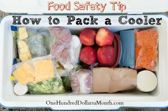 Food Safety Tip - How to Pack a Cooler